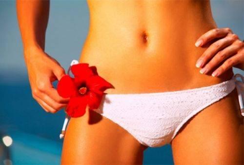 Как правильно брить интимное место