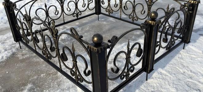 Зачем устанавливать ограду на кладбище? Типы ритуальных оград